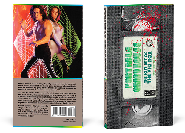 Portable Grindhouse: The Lost Art of the VHS Box at werd.com