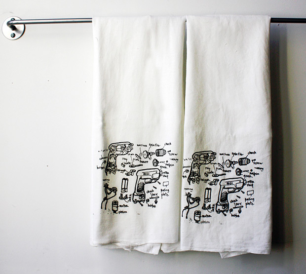Power Drill Hand Towels at werd.com