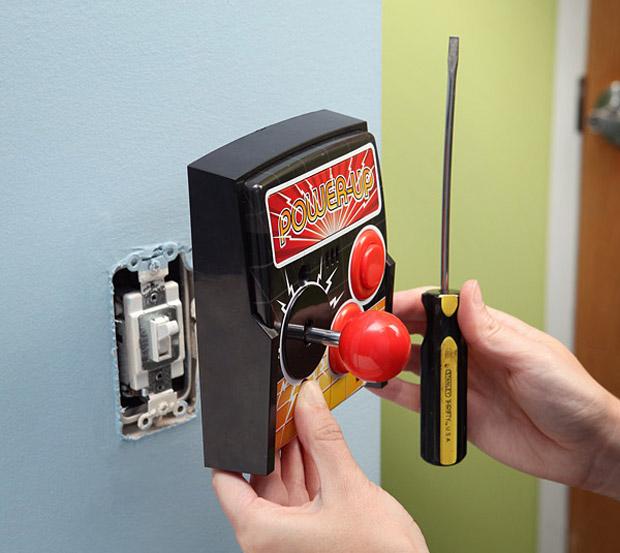 Power-Up Arcade Light Switch Plate at werd.com