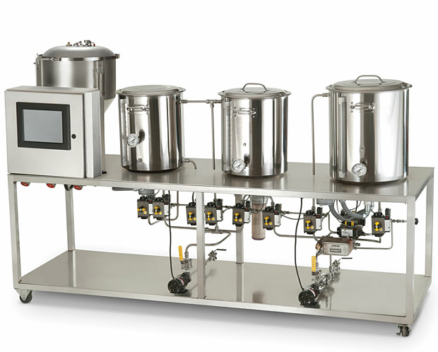 The Professional Microbrewery at werd.com