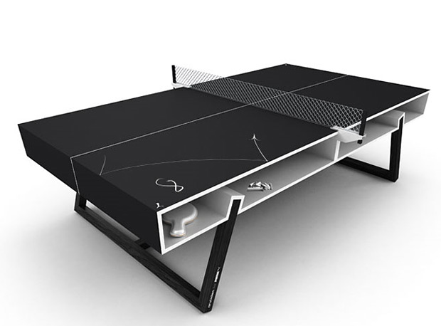Puma Chalk Ping Pong Table at werd.com