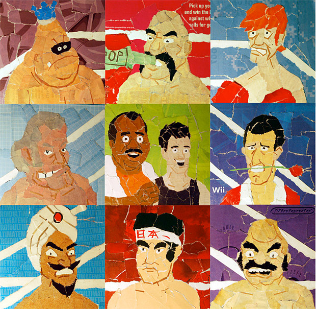 Punch Out Collage Prints at werd.com