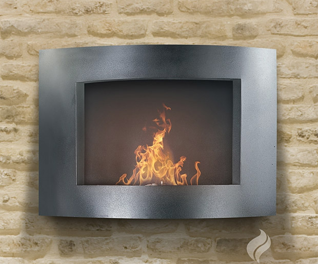 Pureflame Wall Mounted Fireplaces at werd.
