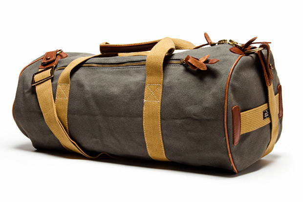 The Quality Mending Company Canvas Duffle Bag at werd.com