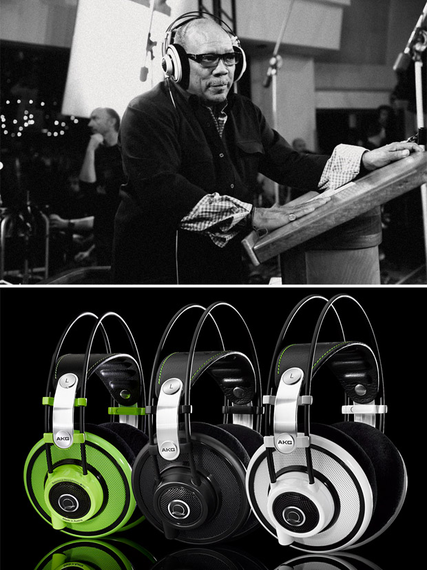 Harman AKG x Quincy Jones Earphones at werd.com