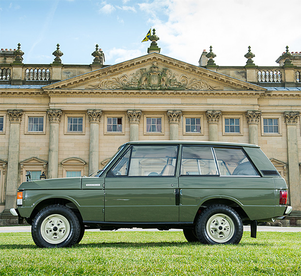 1970 Range Rover #001 at werd.com