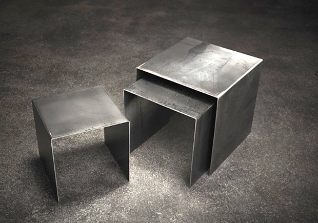 Raw Steel Tables at werd.com