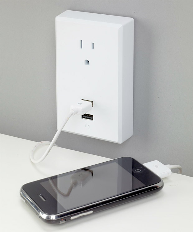 USB Wall Plate at werd.com