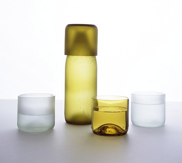 Recycled Bottle Tumblers at werd.com