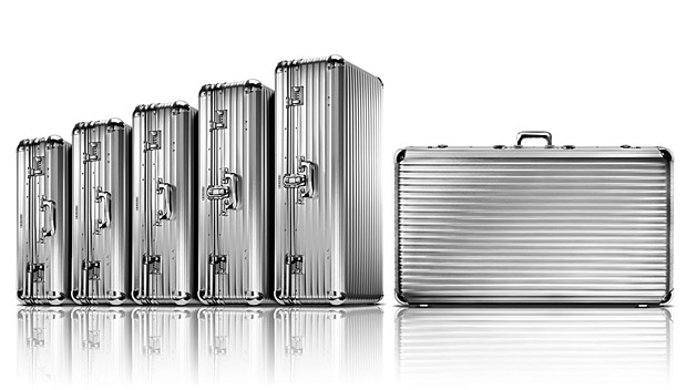 Rimowa Aluminum Luggage at werd.com