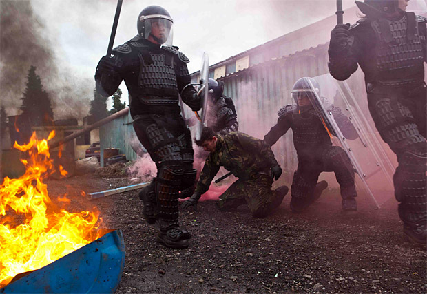 Riot Control Training Experience at werd.com