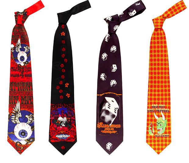 Rock Neckties at werd.com