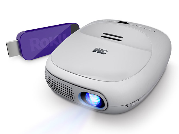 3M Streaming Projector Powered by Roku at werd.com