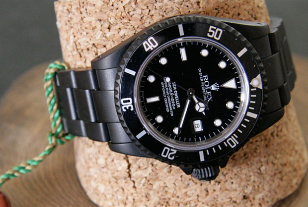 Rolex Black Limited Edition at werd.com