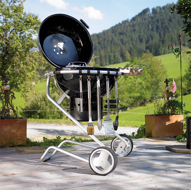 Rösle Charcoal Grill at werd.com