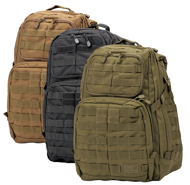 5.11 Tactical RUSH 24 Backpack at werd.com