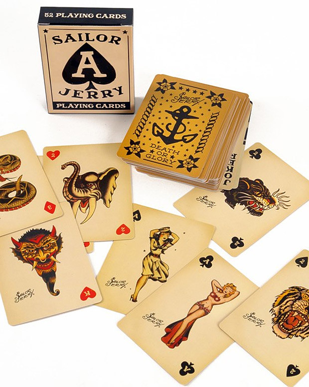 Sailor Jerry Playing Cards at werd.com