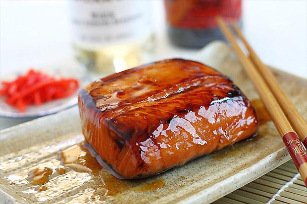 Teriyaki Salmon Recipe — Dishmaps