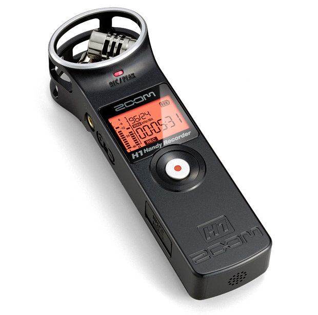 Samson Zoom H1 Handy Recorder at werd.com