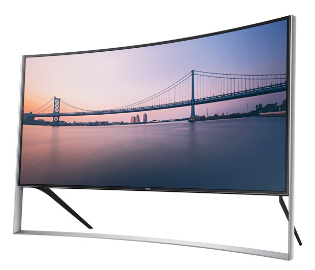 Samsung UHD S9 105-Inch Curved 4K TV at werd.com
