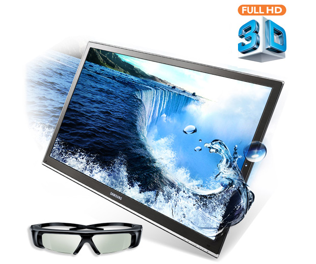 Samsung 55-inch 3D-Ready LED HDTV at werd.com