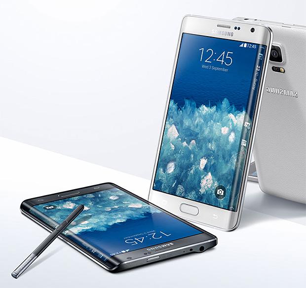 Galaxy Note Edge at werd.com
