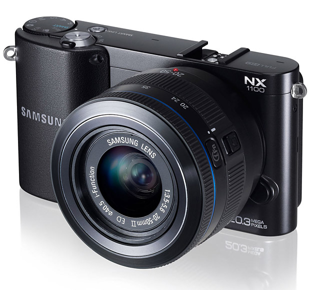 Samsung NX1100 at werd.com