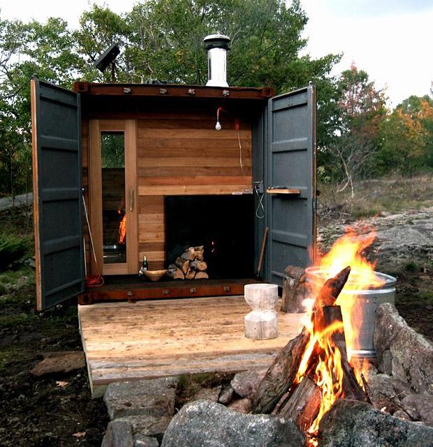 Sauna Box at werd.com