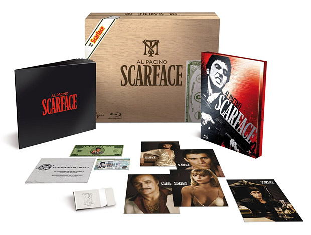 Scarface Limited Edition Steelbook Box Set at werd.com