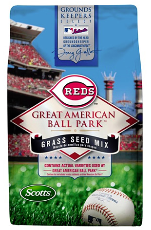 Scotts MLB Authentic Grass Seed Collection at werd.com