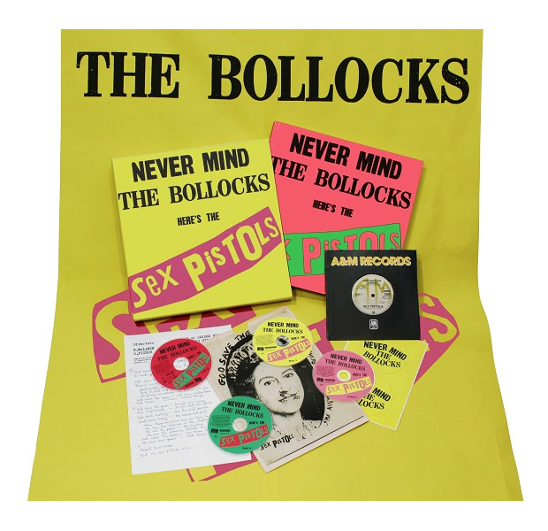 Never Mind the Bollocks Here's the Sex Pistols 35th Anniversary Box Set at werd.com