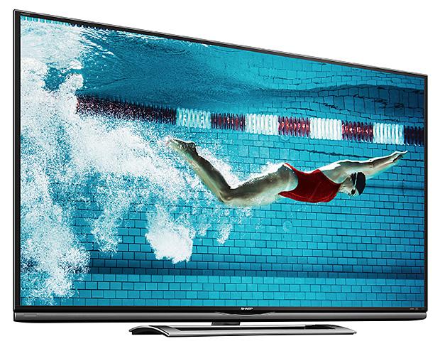 Sharp AQUOS Ultra HD LED TV at werd.com