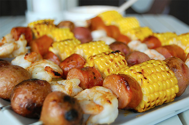 Shrimp Boil Kebabs at werd.com