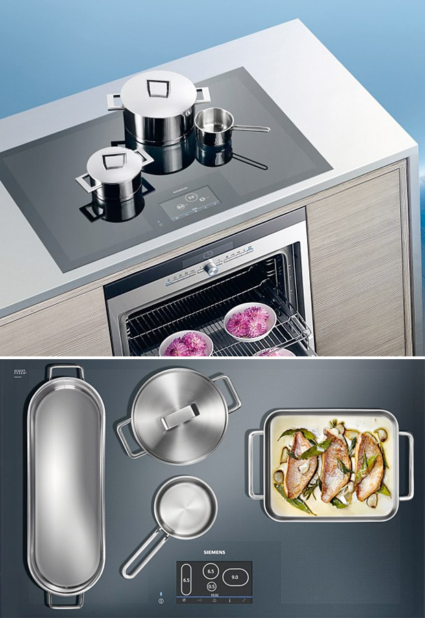 Siemens Full Surface Induction Cooktop at werd.com