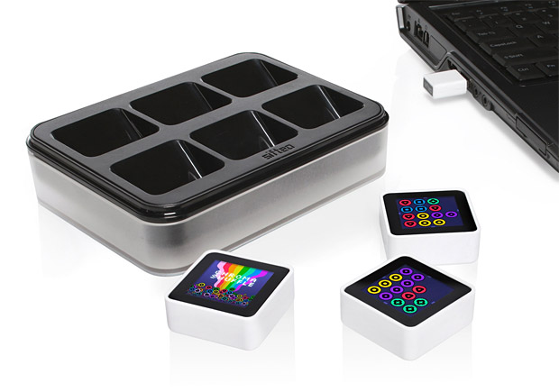 Sifteo Game Cubes at werd.com