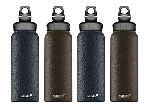 Sigg Graphite Wide Mouth Bottle at werd.com
