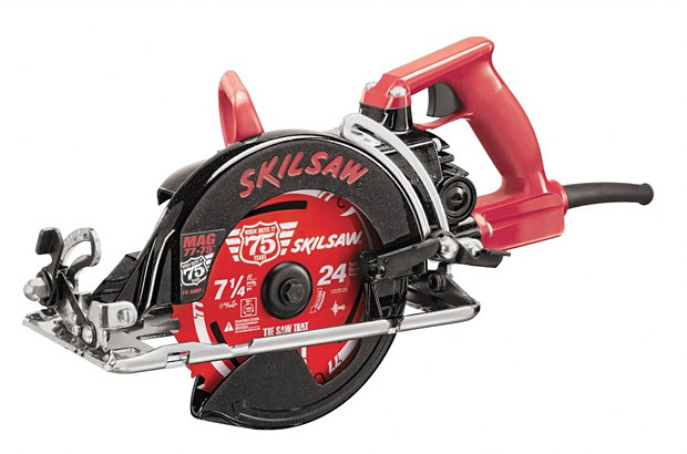 75th Anniversary Worm Drive Skilsaw at werd.com