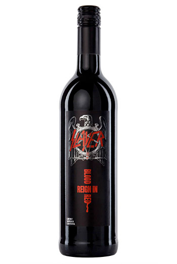 Slayer Reign in Blood Cabernet Sauvignon at werd.com