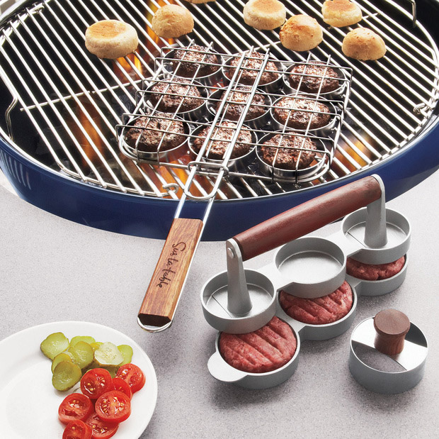 Slider Mini-Burger Tool Set at werd.com