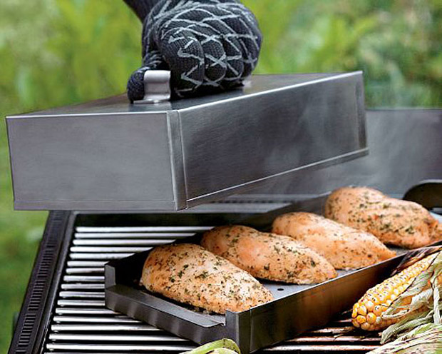 Stainless Steel Smoker Box at werd.com