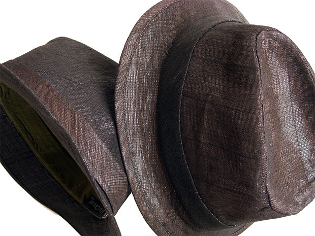 Sonic Fabric Fedora at werd.com