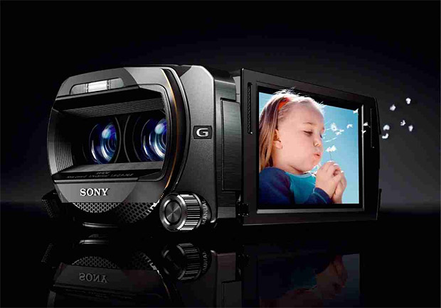 Sony HD 3D Camcorder at werd.com