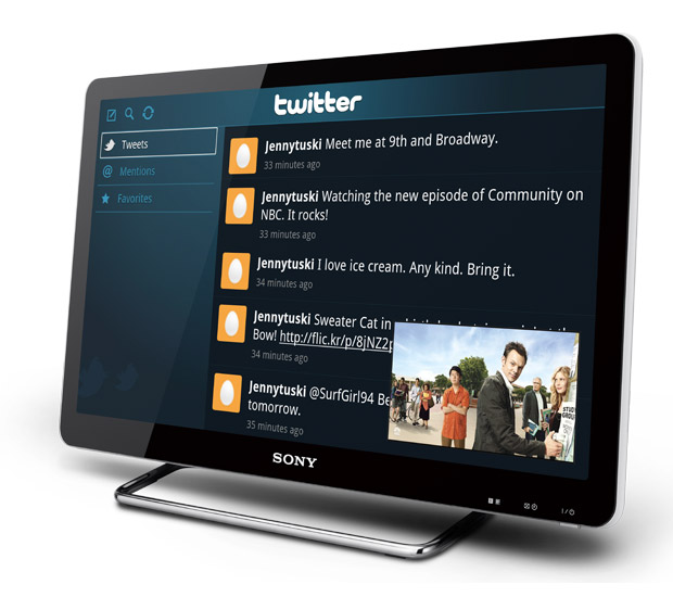 Sony Internet TV at werd.com