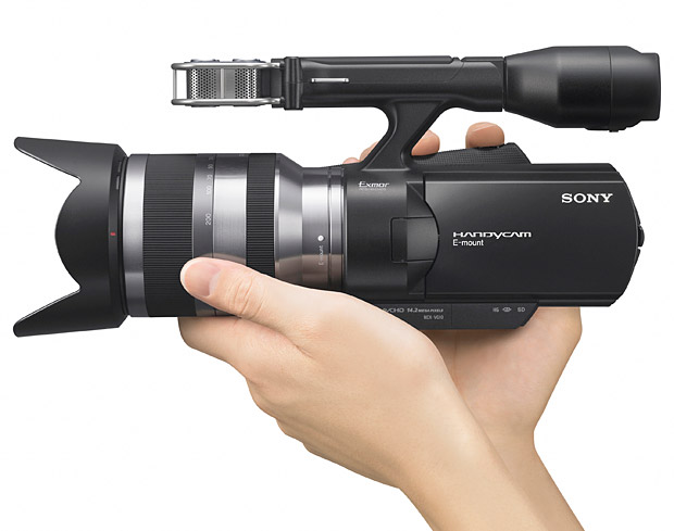 Sony NEX-VG10 Camcorder at werd.com