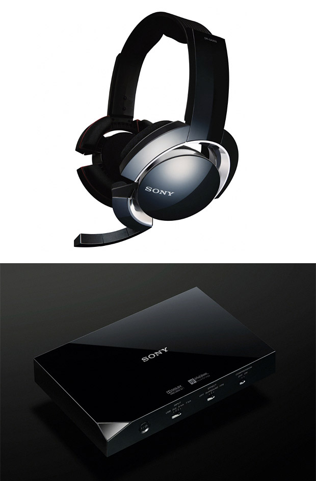 Sony Ultimate Weapon Gaming Headset at werd.com