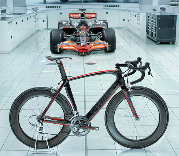 Specialized McLaren Venge at werd.com