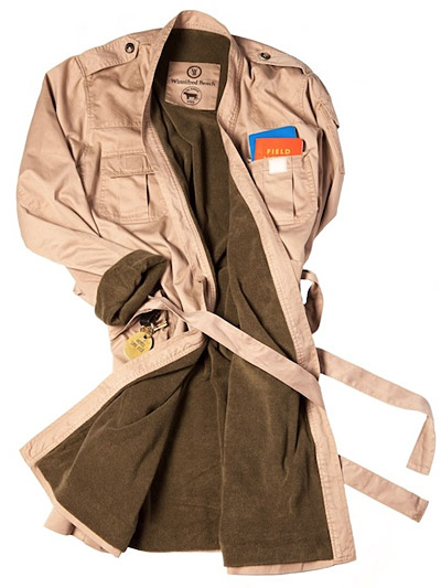 Sport Utility Bathrobe at werd.com