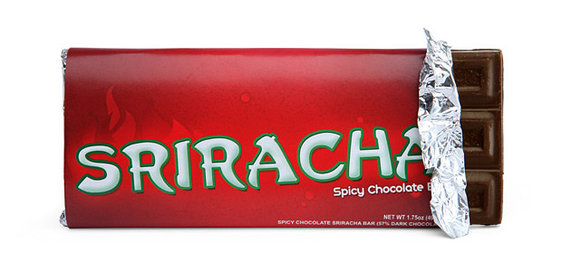 Sriracha Chocolate Bar at werd.com