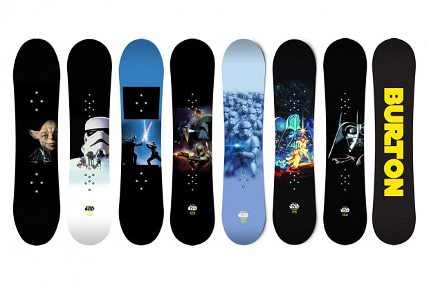 Star Wars x Burton Snowboards at werd.com