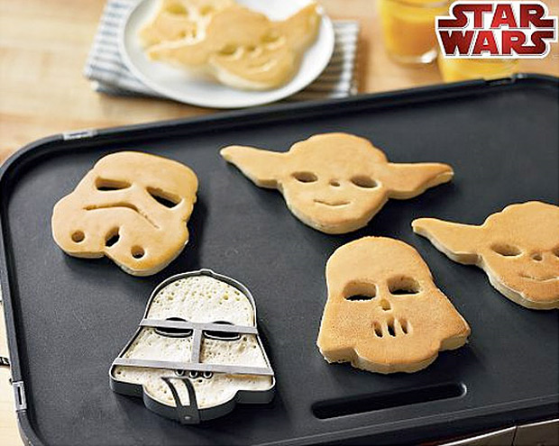 Star Wars Pancake Molds at werd.com